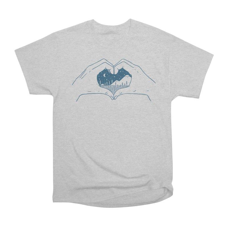 Love Nature Men's Classic T-Shirt by ilovedoodle's Artist Shop