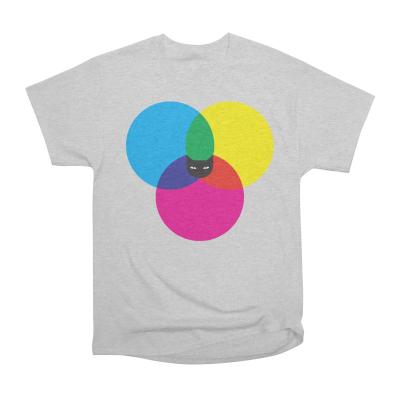 CMYKAT Women's Classic Unisex T-Shirt by ilovedoodle's Artist Shop