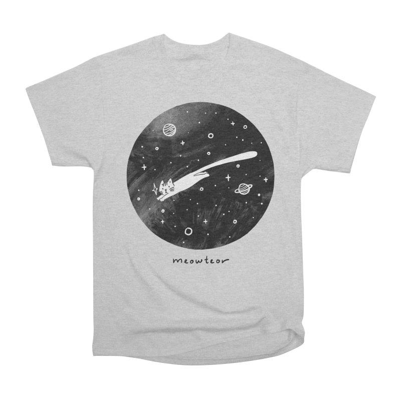 Meowteor Women's Heavyweight Unisex T-Shirt by ilovedoodle's Artist Shop