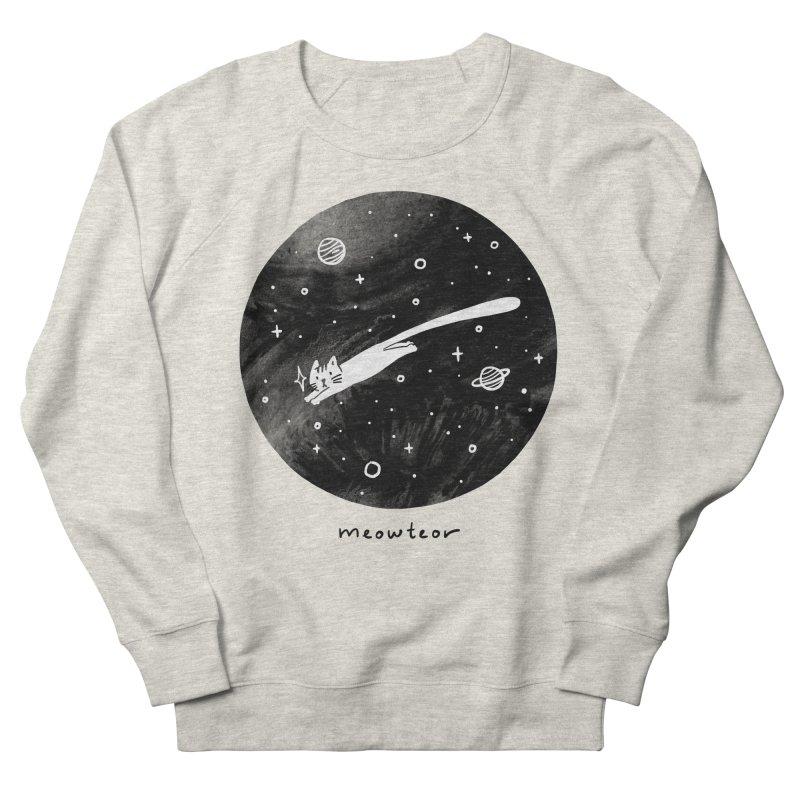 Meowteor Women's Sweatshirt by ilovedoodle's Artist Shop