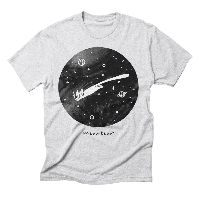 Meowteor Men's Triblend T-Shirt by ilovedoodle's Artist Shop
