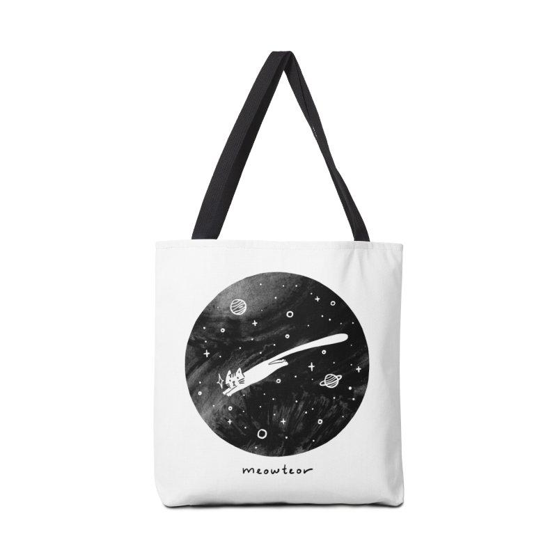 Meowteor Accessories Bag by ilovedoodle's Artist Shop