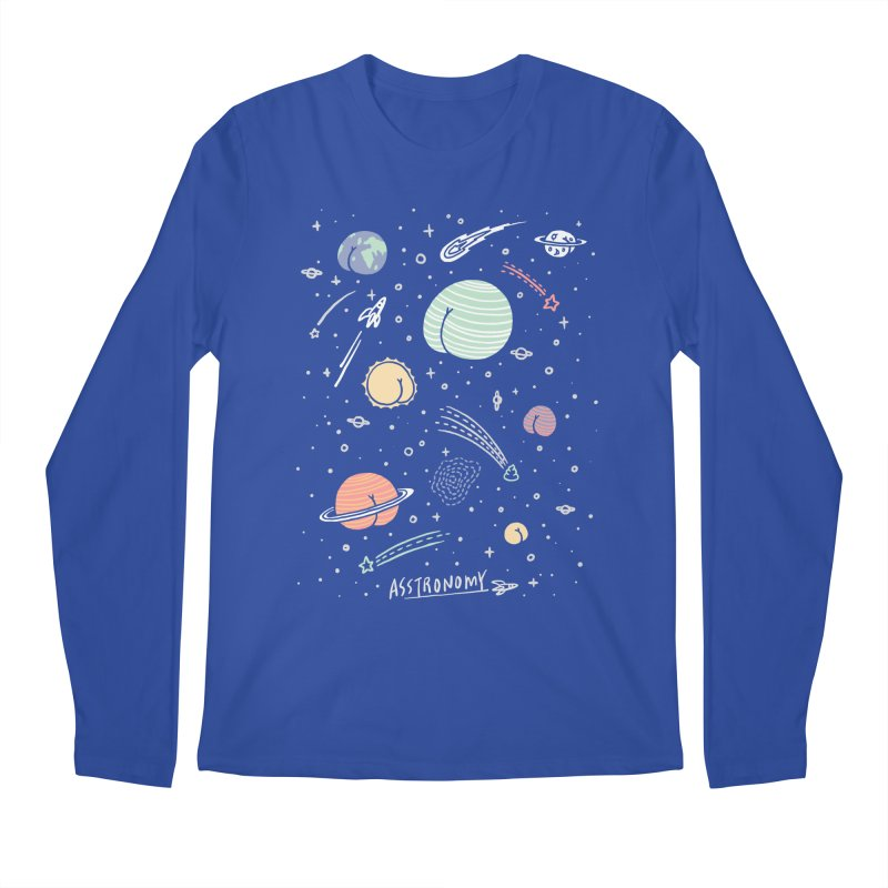 Asstronomy Men's Longsleeve T-Shirt by ilovedoodle's Artist Shop