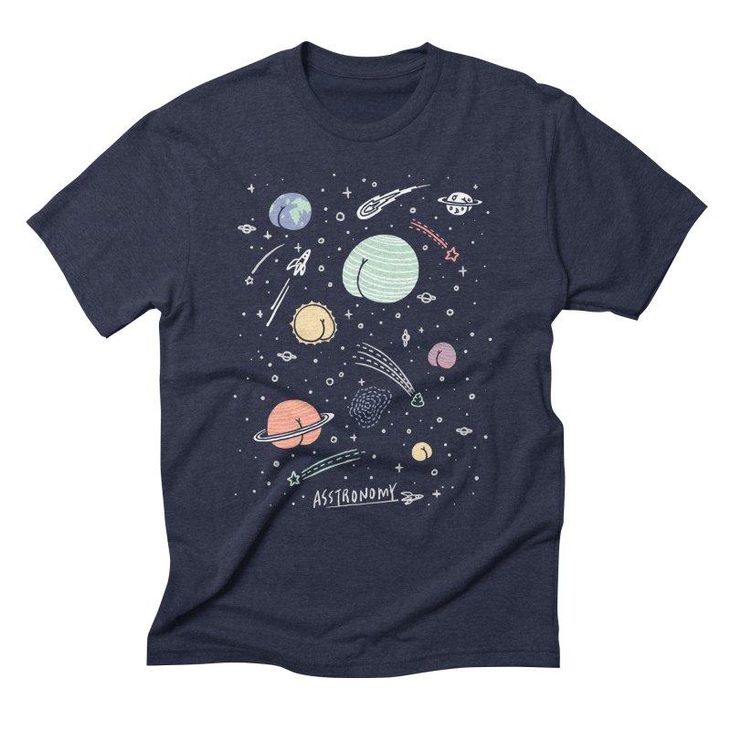 Asstronomy Men's Triblend T-Shirt by ilovedoodle's Artist Shop