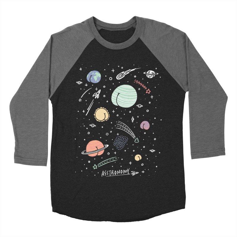 Asstronomy Women's Baseball Triblend T-Shirt by ilovedoodle's Artist Shop