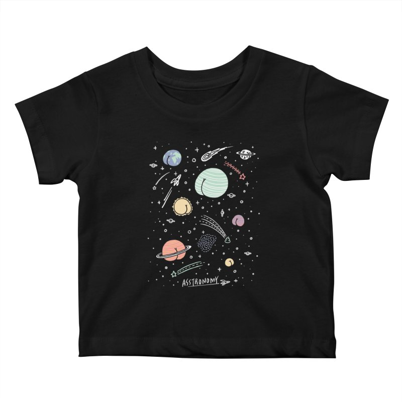Asstronomy Kids Baby T-Shirt by ilovedoodle's Artist Shop