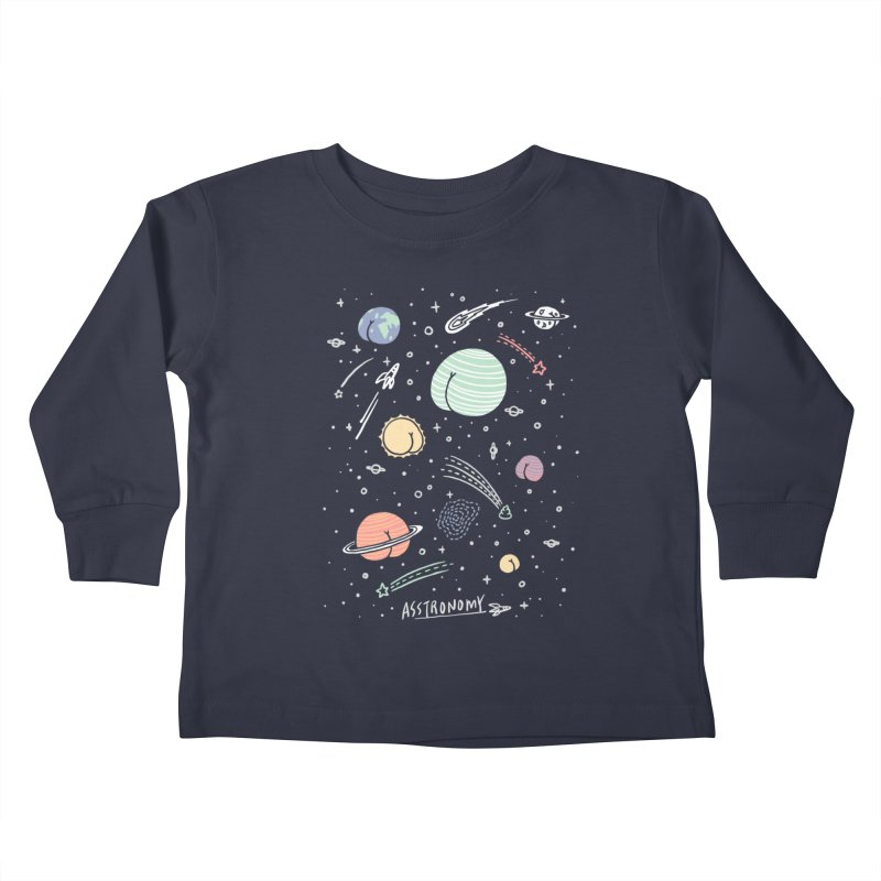 Asstronomy Kids Toddler Longsleeve T-Shirt by ilovedoodle's Artist Shop