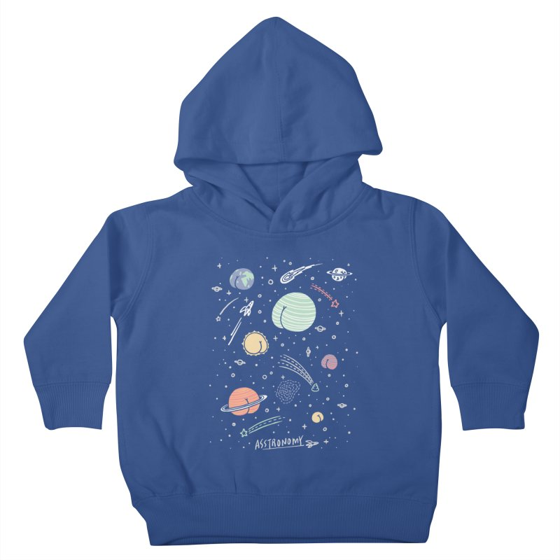 Asstronomy Kids Toddler Pullover Hoody by ilovedoodle's Artist Shop