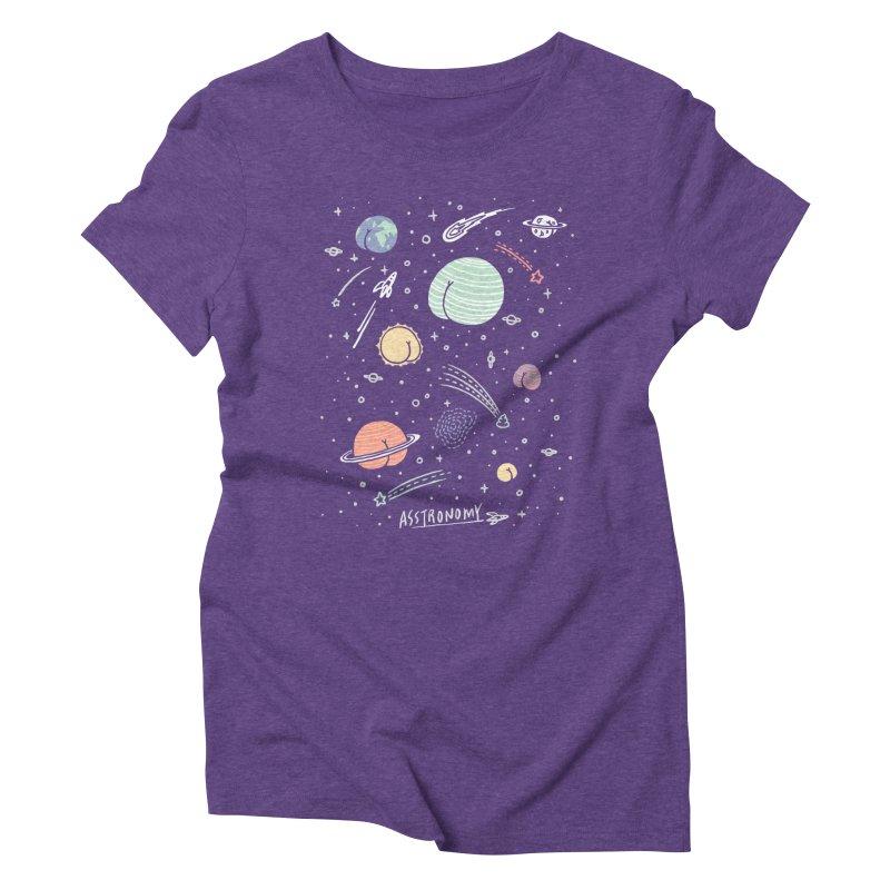 Asstronomy Women's Triblend T-Shirt by ilovedoodle's Artist Shop