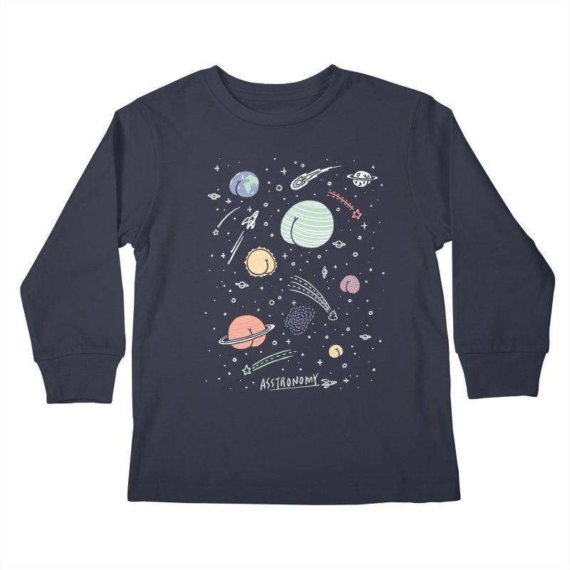 Asstronomy Kids Longsleeve T-Shirt by ilovedoodle's Artist Shop