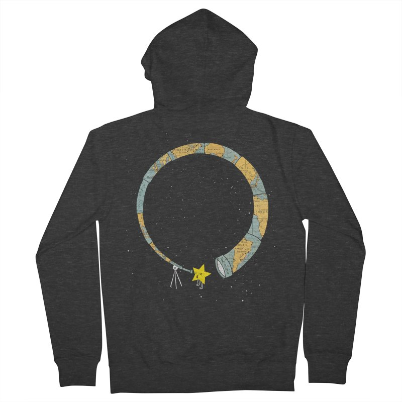 Discover Yourself Women's French Terry Zip-Up Hoody by ilovedoodle's Artist Shop
