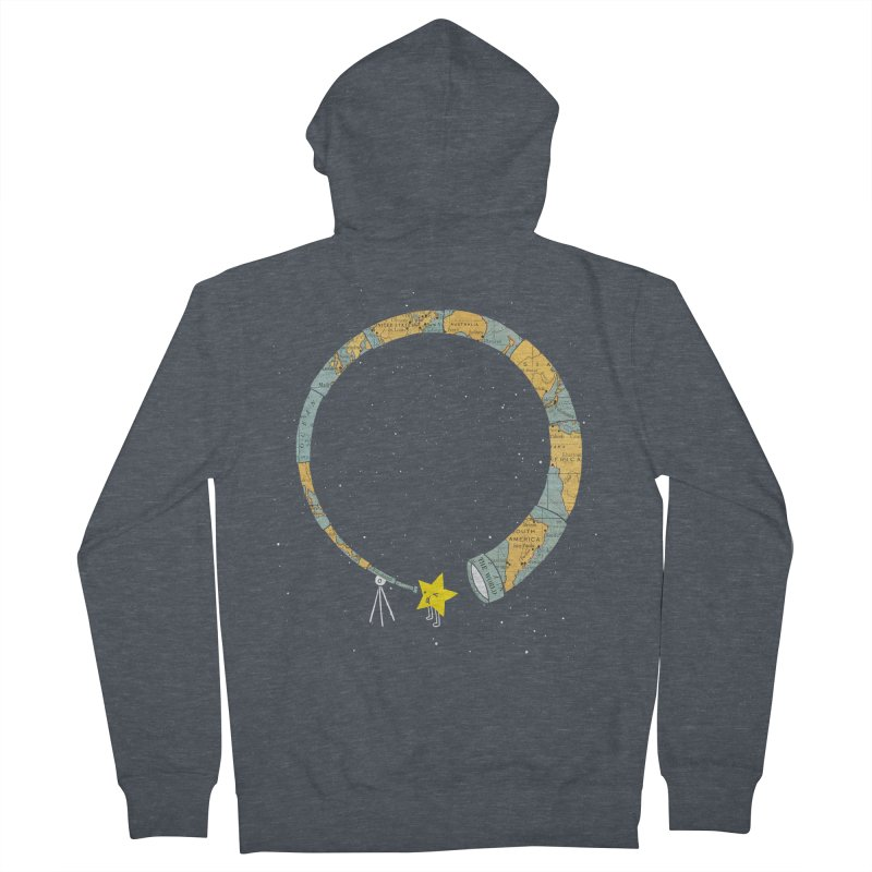 Discover Yourself Men's French Terry Zip-Up Hoody by ilovedoodle's Artist Shop