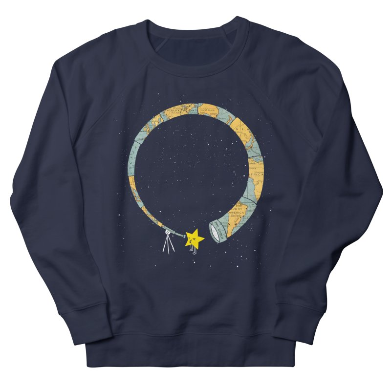 Discover Yourself Women's French Terry Sweatshirt by ilovedoodle's Artist Shop