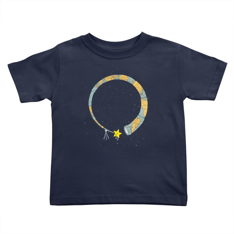 Discover Yourself Kids Toddler T-Shirt by ilovedoodle's Artist Shop