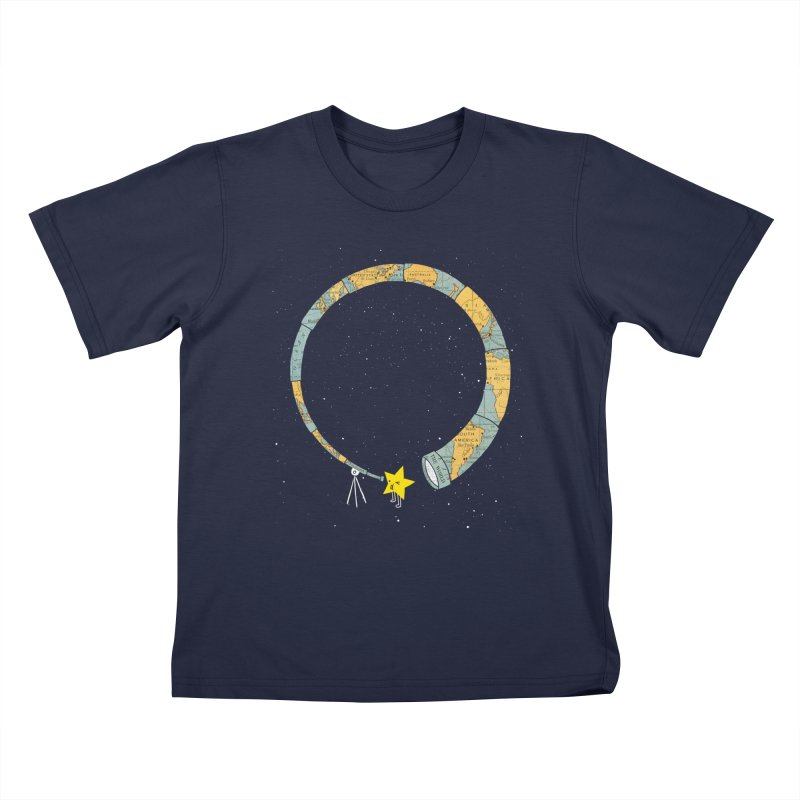 Discover Yourself Kids T-Shirt by ilovedoodle's Artist Shop