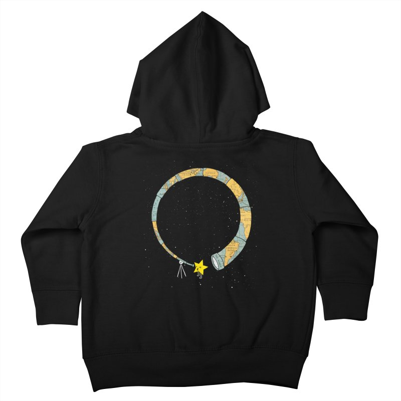 Discover Yourself Kids Toddler Zip-Up Hoody by ilovedoodle's Artist Shop