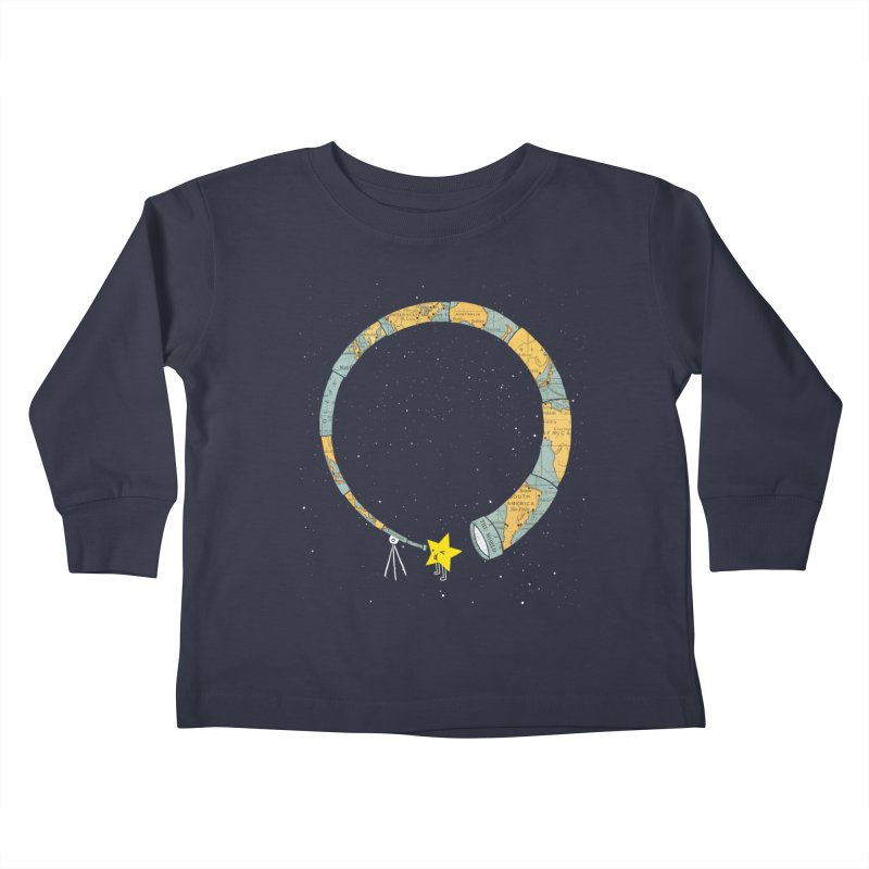 Discover Yourself Kids Toddler Longsleeve T-Shirt by ilovedoodle's Artist Shop