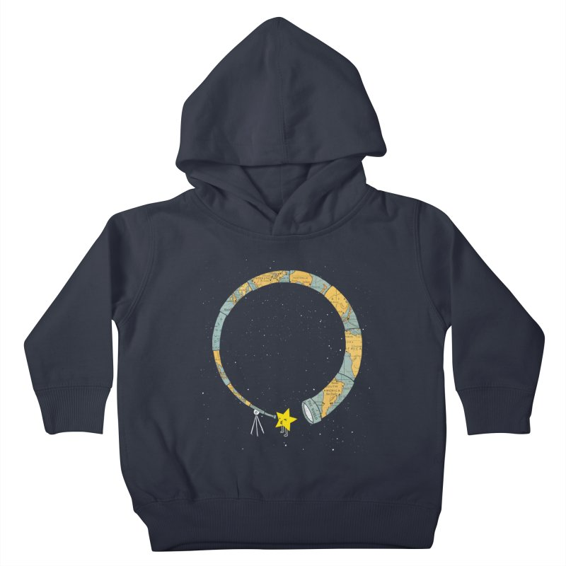 Discover Yourself Kids Toddler Pullover Hoody by ilovedoodle's Artist Shop
