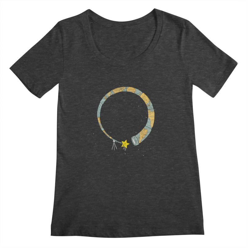 Discover Yourself Women's Scoopneck by ilovedoodle's Artist Shop