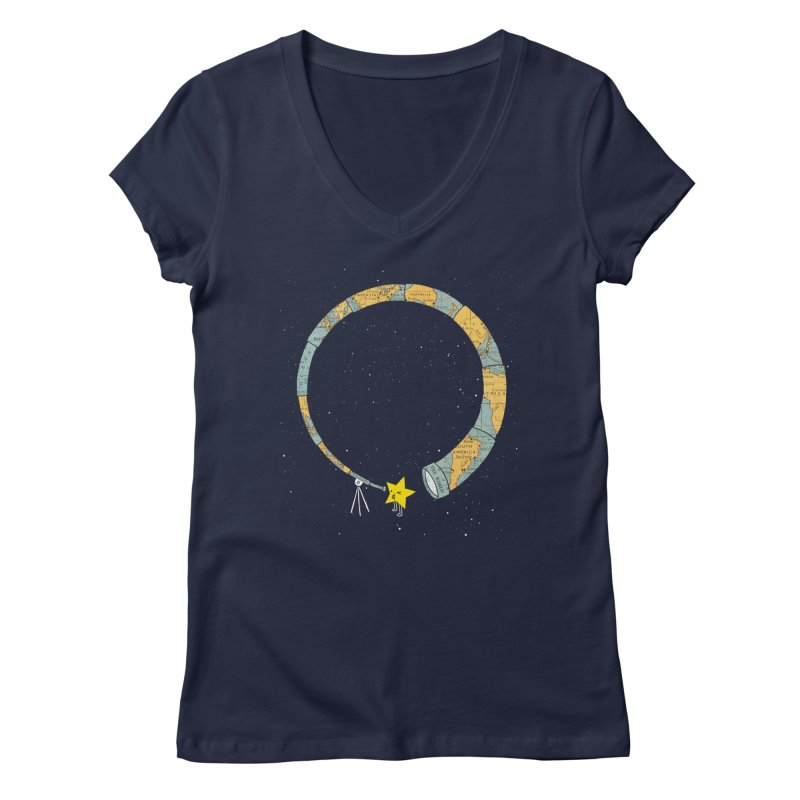Discover Yourself Women's V-Neck by ilovedoodle's Artist Shop