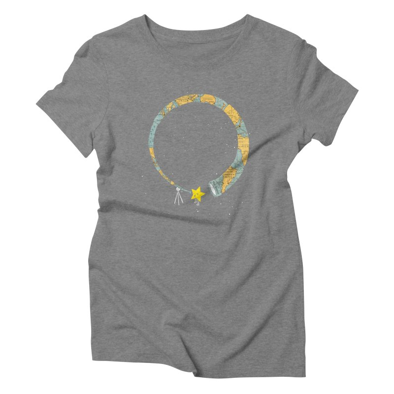 Discover Yourself Women's Triblend T-Shirt by ilovedoodle's Artist Shop