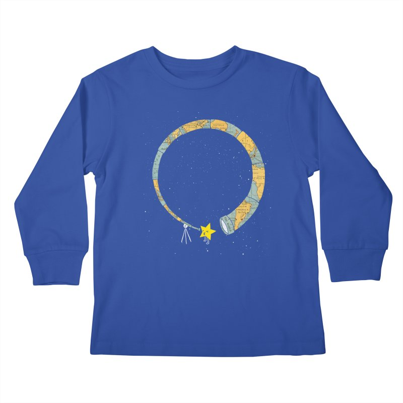 Discover Yourself Kids Longsleeve T-Shirt by ilovedoodle's Artist Shop