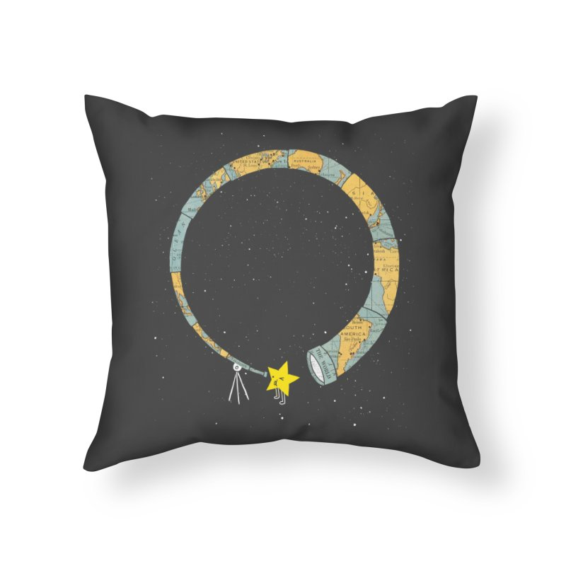 Discover Yourself Home Throw Pillow by ilovedoodle's Artist Shop