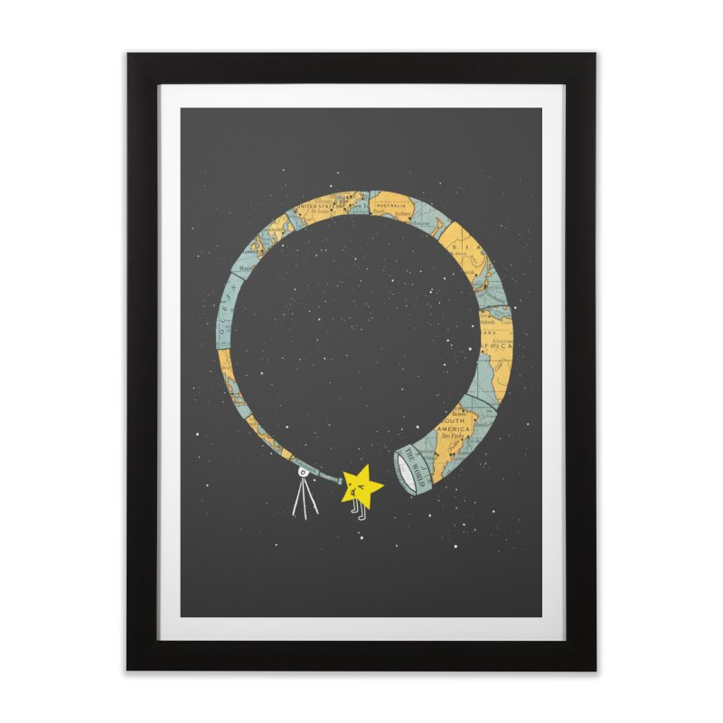 Discover Yourself Home Framed Fine Art Print by ilovedoodle's Artist Shop