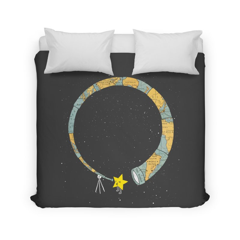 Discover Yourself Home Duvet by ilovedoodle's Artist Shop