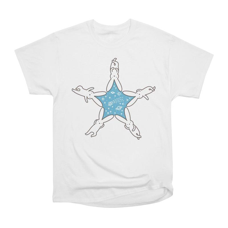 Rabbit Star Women's Heavyweight Unisex T-Shirt by ilovedoodle's Artist Shop