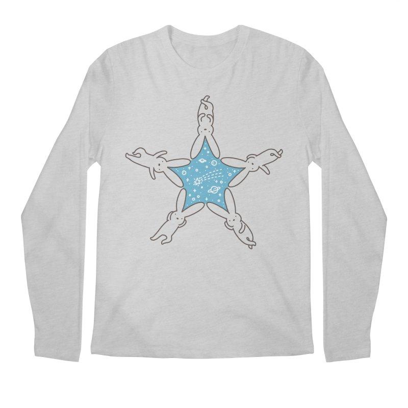 Rabbit Star Men's Longsleeve T-Shirt by ilovedoodle's Artist Shop