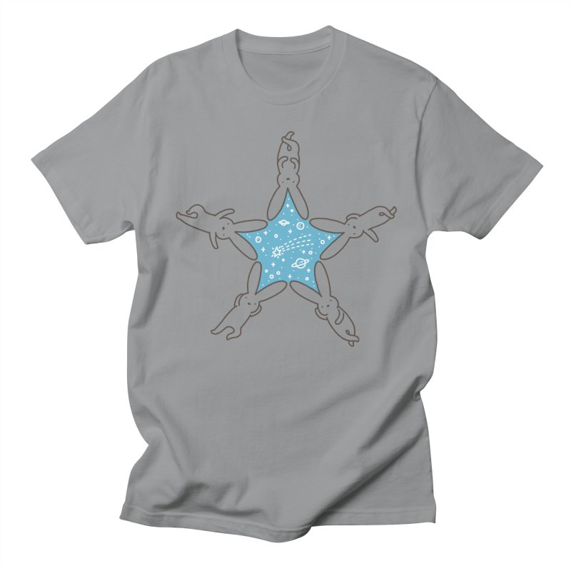 Rabbit Star Women's Regular Unisex T-Shirt by ilovedoodle's Artist Shop