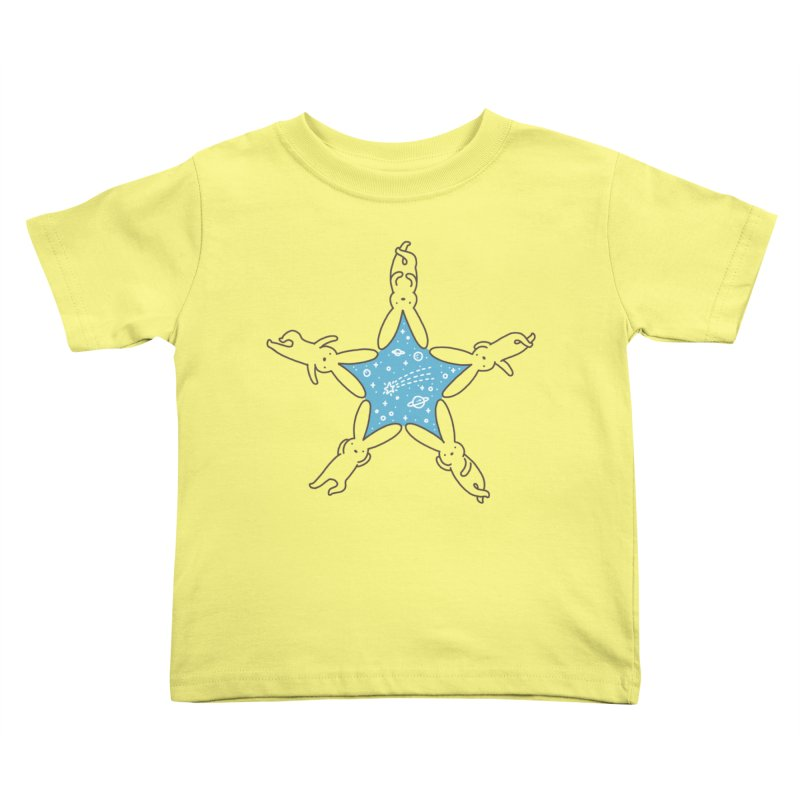 Rabbit Star Kids Toddler T-Shirt by ilovedoodle's Artist Shop