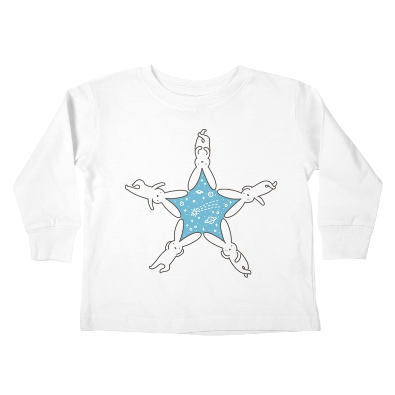 Rabbit Star Kids Toddler Longsleeve T-Shirt by ilovedoodle's Artist Shop
