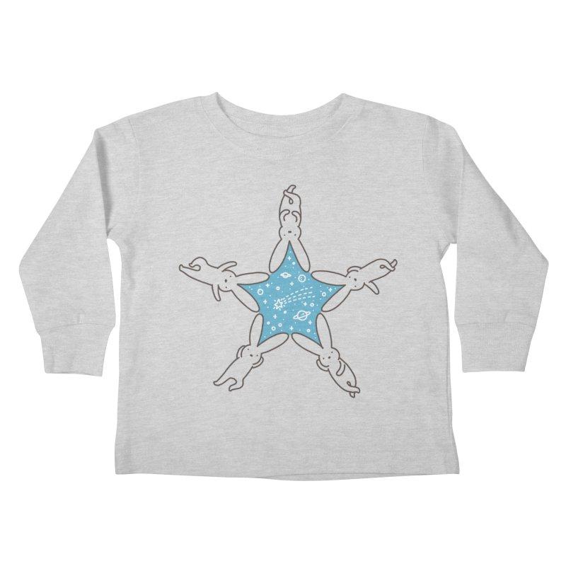 Rabbit Star Kids Toddler Longsleeve T-Shirt by ilovedoodle's Artist Shop