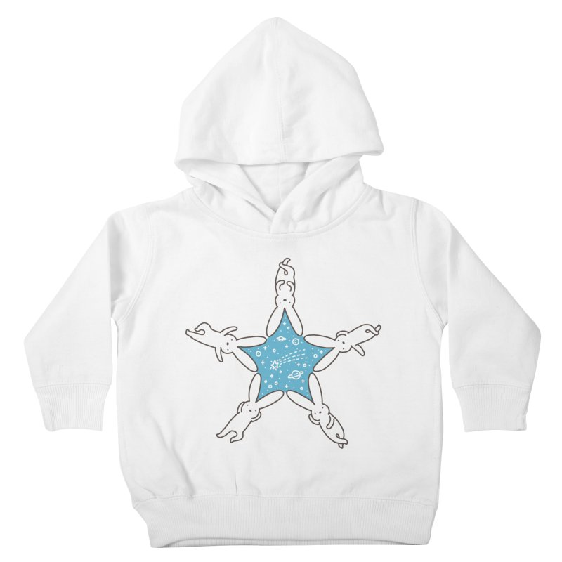 Rabbit Star Kids Toddler Pullover Hoody by ilovedoodle's Artist Shop