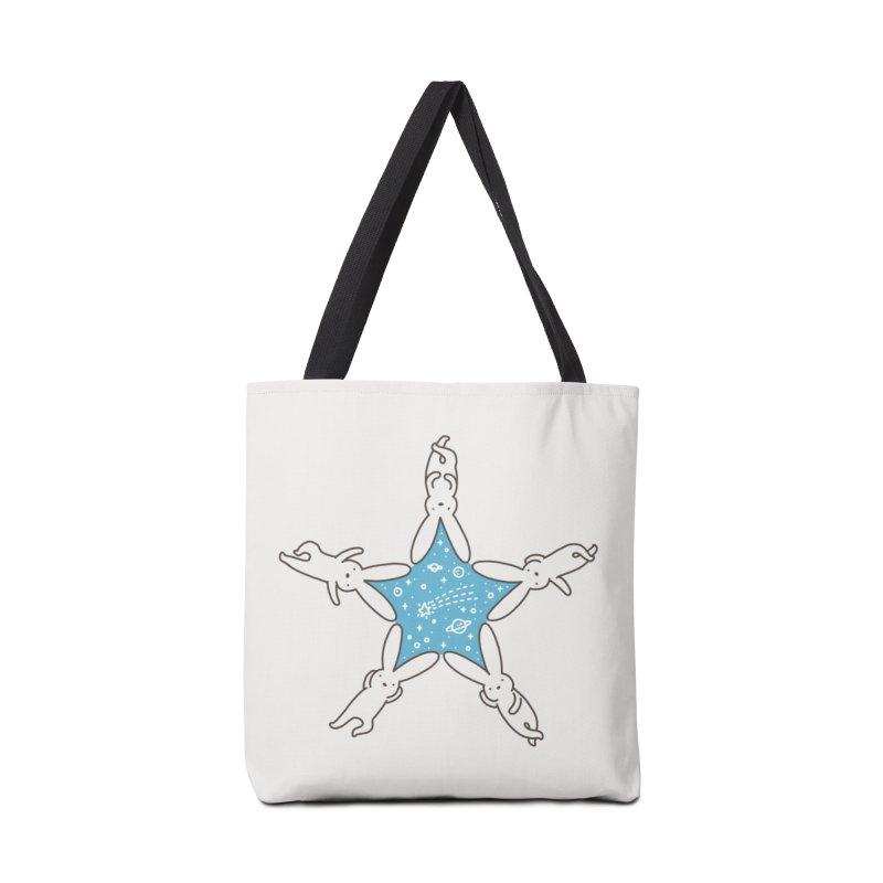 Rabbit Star Accessories Bag by ilovedoodle's Artist Shop