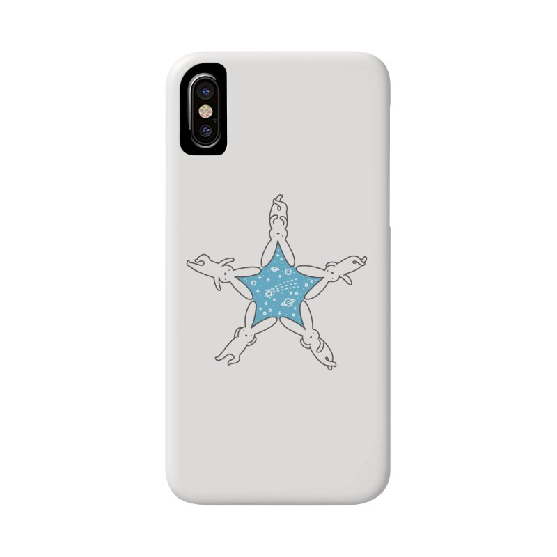Rabbit Star Accessories Phone Case by ilovedoodle's Artist Shop