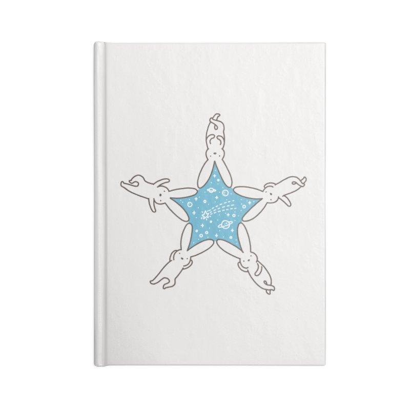 Rabbit Star Accessories Notebook by ilovedoodle's Artist Shop