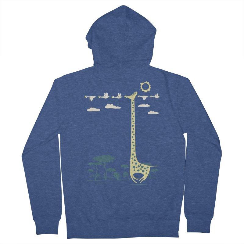 I'm like a bird (blue) Men's Zip-Up Hoody by ilovedoodle's Artist Shop