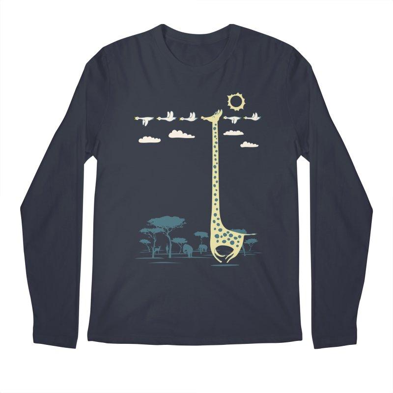 I'm like a bird (blue) Men's Regular Longsleeve T-Shirt by ilovedoodle's Artist Shop