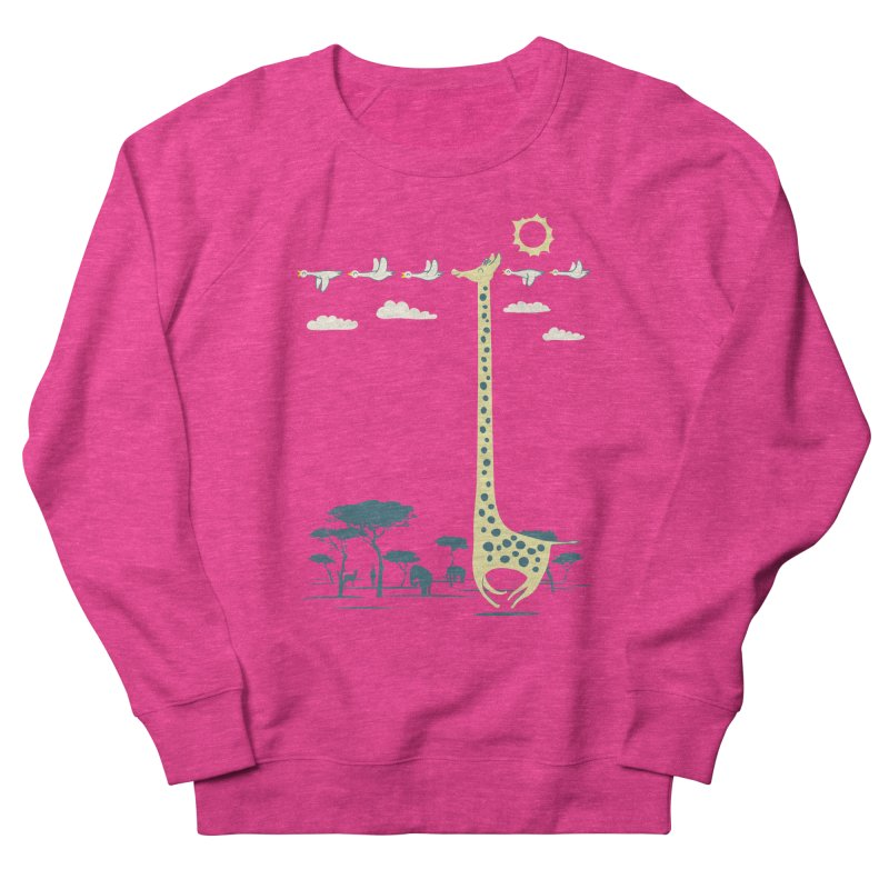 I'm like a bird (blue) Men's French Terry Sweatshirt by ilovedoodle's Artist Shop