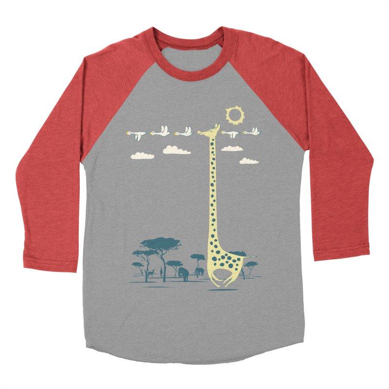 I'm like a bird (blue) Women's Baseball Triblend T-Shirt by ilovedoodle's Artist Shop