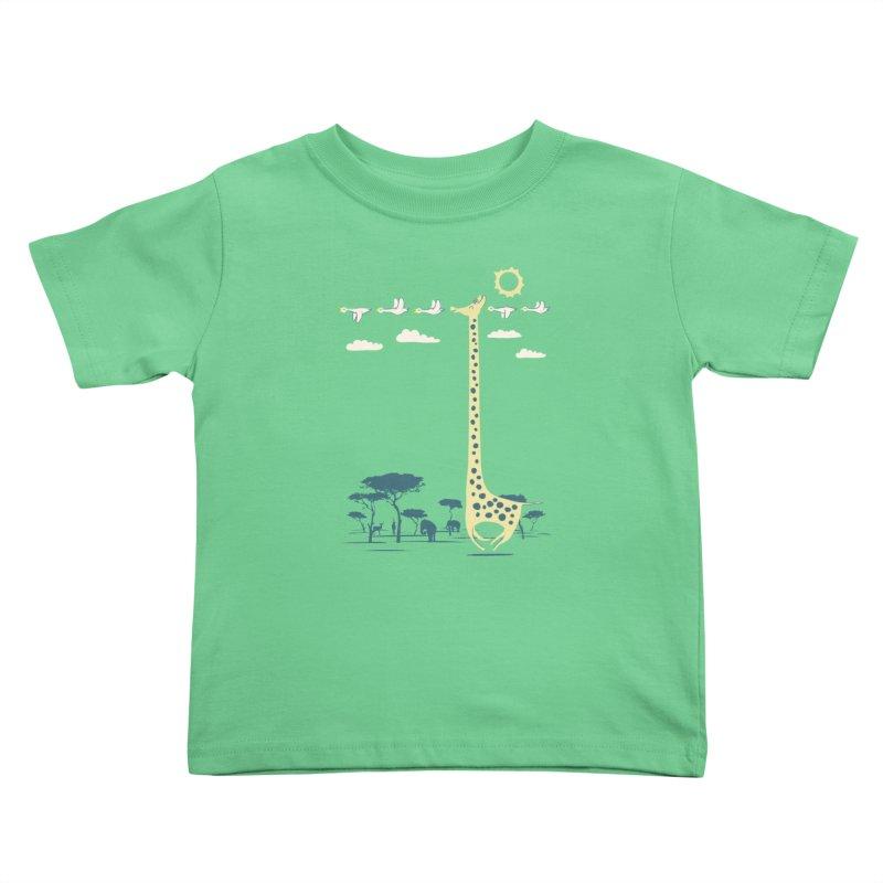 I'm like a bird (blue) Kids Toddler T-Shirt by ilovedoodle's Artist Shop