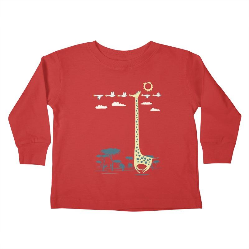 I'm like a bird (blue) Kids Toddler Longsleeve T-Shirt by ilovedoodle's Artist Shop
