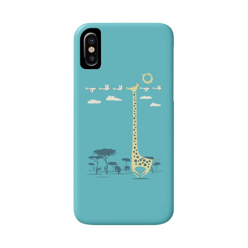 I'm like a bird (blue) Accessories Phone Case by ilovedoodle's Artist Shop