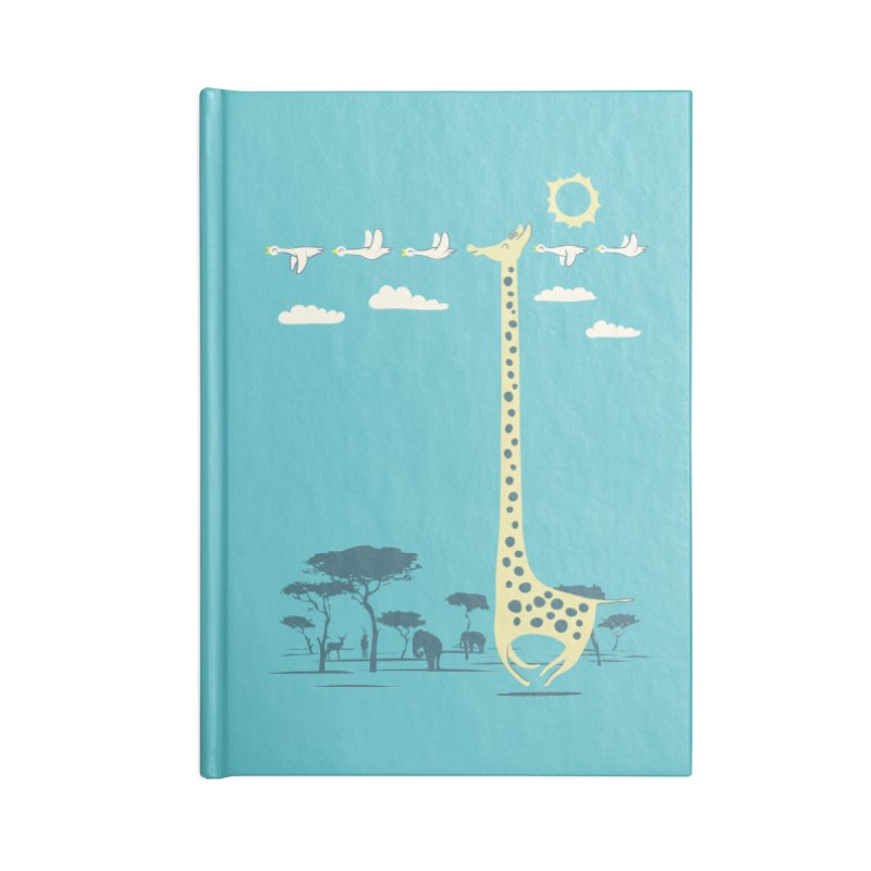 I'm like a bird (blue) Accessories Notebook by ilovedoodle's Artist Shop