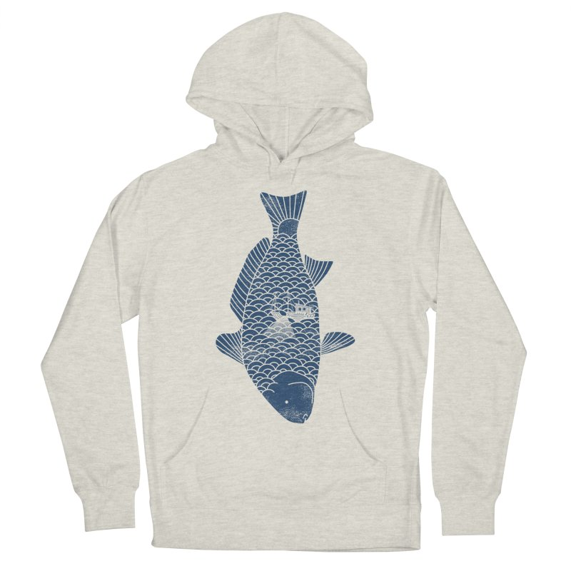 Fishing in a fish Men's Pullover Hoody by ilovedoodle's Artist Shop