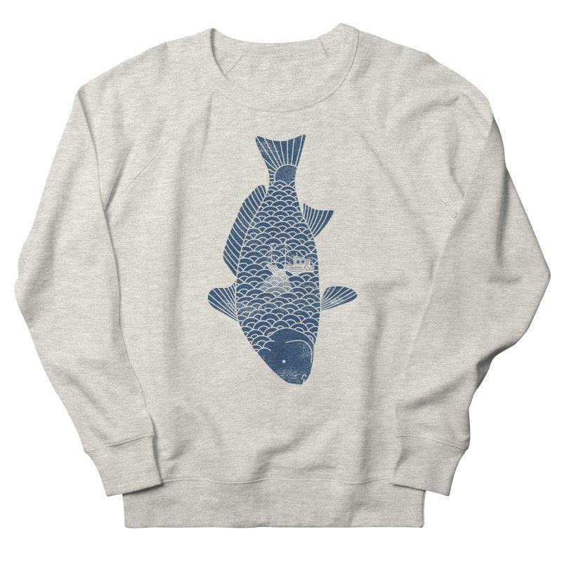 Fishing in a fish Women's Sweatshirt by ilovedoodle's Artist Shop