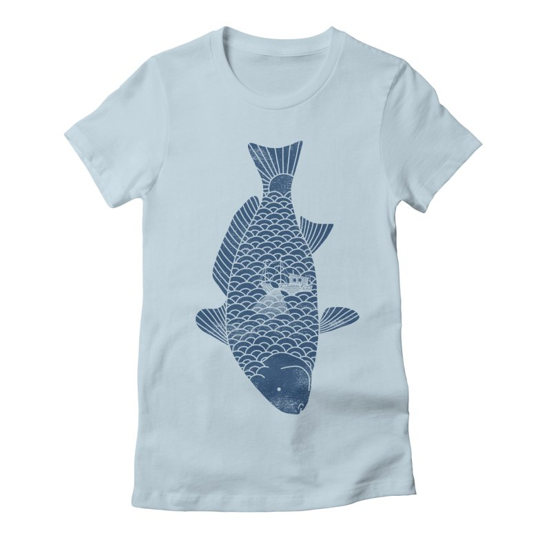 Fishing in a fish Women's Lounge Pants by ilovedoodle's Artist Shop